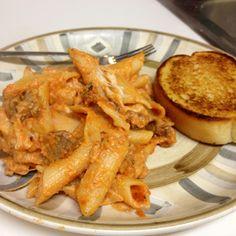 Baked Rigatoni Recipe