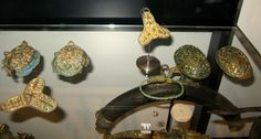 Viking Age jewelry at the Nationalmuseet, Denmark