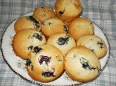 Splenda Blueberry Muffins. I made these for my mom, a diabetic, and it became one of her favorite recipes.