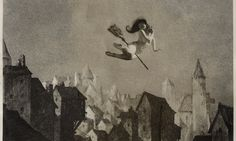 Off for the Sabbot 1927. American nightmares: the photography of William Mortensen