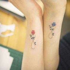 çiçekli bilek dövmeleri bayan flower wrist tattoos for women