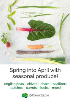 Part of your seasonal weekly meal plans at gatheredtable.com