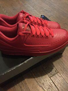 f7217ca97c4c Retro Air Jordan 2 Low Gym Red Chicago Bulls size 11  fashion  clothing