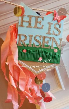 He is Risen! Stampin' Up Easter on Pinterest | Easter Treats, Banners ...