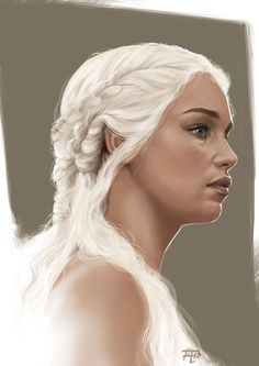 The khaleesi by Ashline-illus on DeviantArt