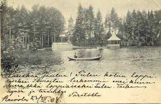 Raivola.  Открытка датируемые 1904. Carelica.