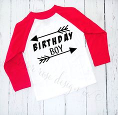A personal favorite from my Etsy shop https://www.etsy.com/listing/483598382/birthday-shirts-1st-birthday-shirt-2nd
