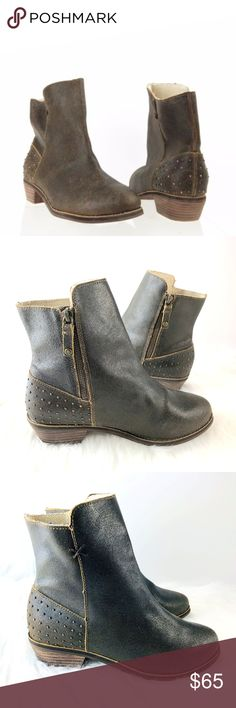 04788a4f4e885 See more. Reef Adora Leather Studded Ankle Boots 9 side zip reef  Adora/Voyage Leather Studded Low