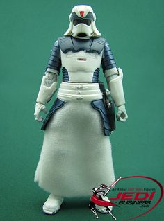 Star Wars Action Figure Snowtrooper (Concept by Joe Johnston), Star Wars The Legacy Collection