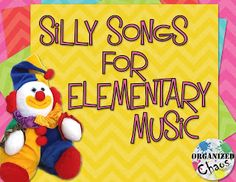 Teacher Tuesday: top 5 silly songs to sing with kids
