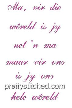 Inspiring Quotes About Life, Inspirational Quotes, Afrikaanse Quotes, Machine Embroidery, Life Quotes, Messages, Stitch, Life Coach Quotes, Quotes About Life
