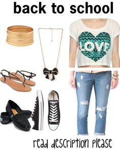 """""""back to school outfit #11"""" by puregigi ❤ liked on Polyvore"""