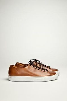 Buttero Tanino Leather Tan Shoes