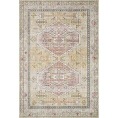Loloi II Rugs Skye Printed SKY-04 Rugs | Rugs Direct Polyester Rugs, Area Rugs For Sale, Fashion Room, Gold Material, Power Loom, Rug Making, Colorful Rugs, Vintage Rugs, Bohemian Rug