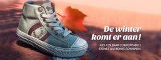 De dagen worden weer korter en de zonnige zomerdagen behoren nu echt tot het verleden. En dat betekent dat het tijd is voor nieuwe kinderschoenen. Het liefst koop je schoenen waar je kinderen lekker mee door de bladeren kunnen rennen en die hun voeten warm houden als he...