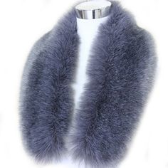 Winter Fashion Faux Fox Fur Collar Scarf Shawl Collar Women's Wrap... ($19) ❤ liked on Polyvore featuring accessories, scarves, faux-fur scarves, wrap scarves, faux stole and wrap shawl