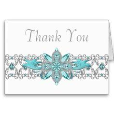 turquoise quinceanera invitations | Turquoise Blue Silver Quinceanera Invitations from Zazzle.com