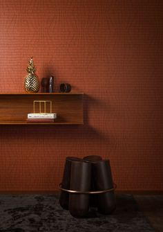 Le Corbusier - Innovative, non-woven #wallcoverings combined with three-dimensional #textile wallcoverings, based on Le Corbusier's Polychromie architecturale. (Visit www.xessex.com.sg for the latest ranges and collections of #wallcoverings and #wallpapers!) #lecorbusier #3d