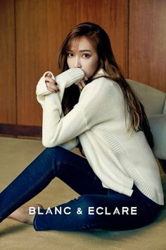 Jessica Jung BLANC & ECLARE Fall Winter 2015