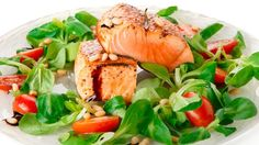 A fast and protein rich meal that you can plate to the table in 10 minutes. Sear the salmon and serve with a simply dressed arugula or watercress salad. The delish is in the details.