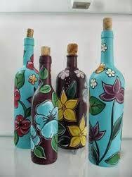 santa claus en botellas de vidrio - Google Search
