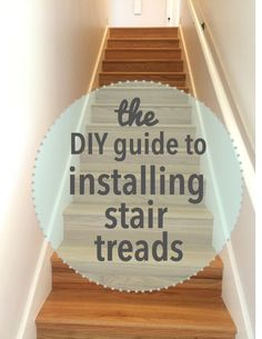 Replacing your stair treads is actually pretty easy. Here's how to remove carpet and install stair treads.