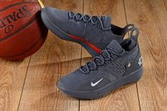 5fc98abefc05 Handsome Nike Zoom KD 11 EP Wolf Grey Red Men s Basketball Shoes Kevin  Durant Sneakers Kevin