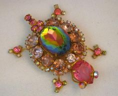 Vintage D&E (Juliana) Pink Lavender Turtle Brooch #vintagejewelry #Juliana #brooch #pink #turtle D&E $89.00
