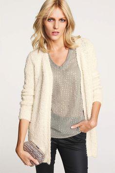Women's Clothing Online - Next Fluffy Cardigan - EziBuy Australia