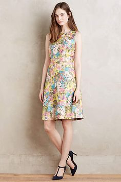 Sungarden Petite Dress - anthropologie.com