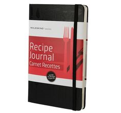 Moleskine Passion Journal - Recipe, Large, Hard Cover x (Passion Book Series) - How To Books Food Journal, Journal Notebook, Recipe Journal, Journal Diary, Meal Calendar, Blank Book, Inexpensive Gift, Famous Artists, Book Series