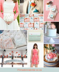 Coral-and-aqua-wedding-inspiration