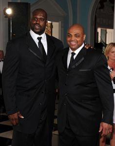 Shaquille O´Neal and Charles Barkley