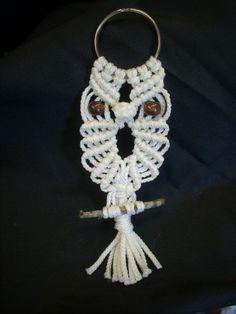 Macrame Owl Key Chain   $5.00