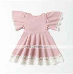 JERFER Spitzenkleid Infant Kleinkind Baby M/ädchen Kinder Blume Kleider Outfits