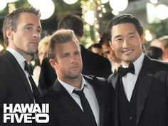 Hawaii Five-O -- What can I say but HOT, HOT, HOT (both the show and the actors)!