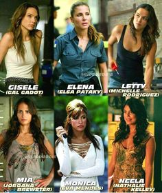 The girls from fast and furious? Letty Fast And Furious, Fast And Furious Memes, Fast And Furious Actors, Fast & Furious 5, The Furious, Paul Walker Movies, Dominic Toretto, Furious Movie, Michelle Rodriguez