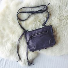 Rebecca Minkoff Lavender Suede Regan Crossbody Bag •A suede Rebecca Minkoff cross-body bag, accented with polished hardware and whipstitching. Front zip pocket. Top zip and lined, 1-pocket interior.   •Measurements: Height: 6.75in, Length: 9in, Depth: 2.5in, Strap drop: 23.25in.  •Like new condition, only been used a couple times.  •NO TRADES/PAYPAL/MERC/HOLDS/NONSENSE. Rebecca Minkoff Bags Crossbody Bags