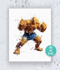 25% OFF: Fantastic Four The Thing Print F4 Print by AllArtPrints