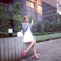 「きのうのスタイル♪」の画像|ローラ Official Blog P… |Ameba (アメーバ)