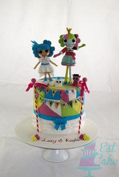 Lalaloopsy Mark II - by KiwiEatCake @ CakesDecor.com - cake decorating website