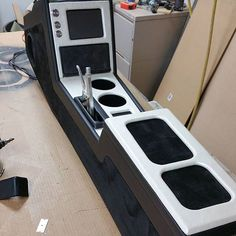 chevelle #BecauseSS custom center console double din