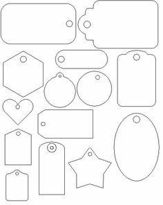 Best 11 Free printable circle templates for creative art projects and school assignments. Use these templates to design labels, stickers, signs, and charts. Diy And Crafts, Paper Crafts, Printable Tags, Paper Tags, Creative Gifts, Creative Art, Diy Gifts, Diy Gift Tags, Christmas Crafts