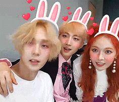 hyuna kim hyuna pentagon hui e'dawn hyojong triple h g:wtripleh 170506 e:199x   fyhyunah.tumblr.com