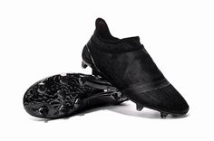 purchase cheap 43763 09474 Dark Space Adidas X 16+ Purechaos FGAG Blackout Adidas Soccer Shoes, Adidas
