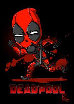 147 Best Little Deadpool Images Deadpool Hero World Marvel