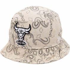 Men's Chicago Bulls New Era Natural Paisley Bucket Hat, Your Price: $29.99