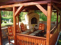 KRBY Gazebo, Outdoor Structures, Grilling, Fireplaces, Deck Gazebo, Cabana, Arbors