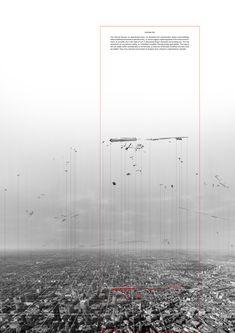 Invisible City by Vassia Chatzikonstantinou, via Behance
