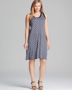 Karen Kane Plus Size Fashion Contrast Tank Dress #Karen_Kane  #Plus #Size #Fashion #Plus_Size_Fashion #Bloomingdales